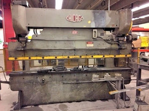 Chicago Dreis & Krump 10ft X 14 Gauge Mechanical Press Brake