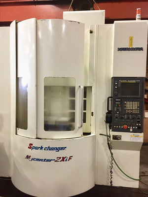 2004 Kitamura Mycenter Spark Changer 2XiF Machining Center