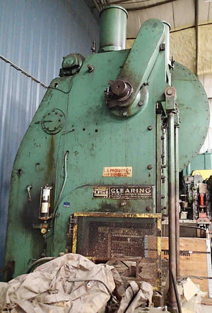 Clearing 150 Ton OBI Press- Model 150-P-701