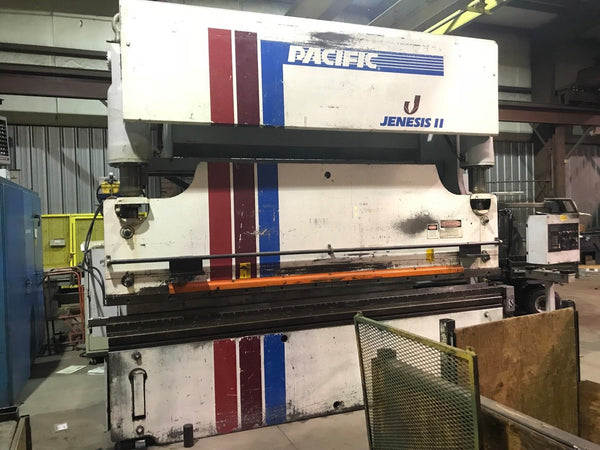 Pacific 175 Ton x 12ft Hydraulic Press Brake - Flush Floor w/ 3 axis CNC Control