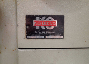 "K.O. Lee Tool Grinder & Attachments- Model B2000 BB, 5"" x 37""- OBO!"