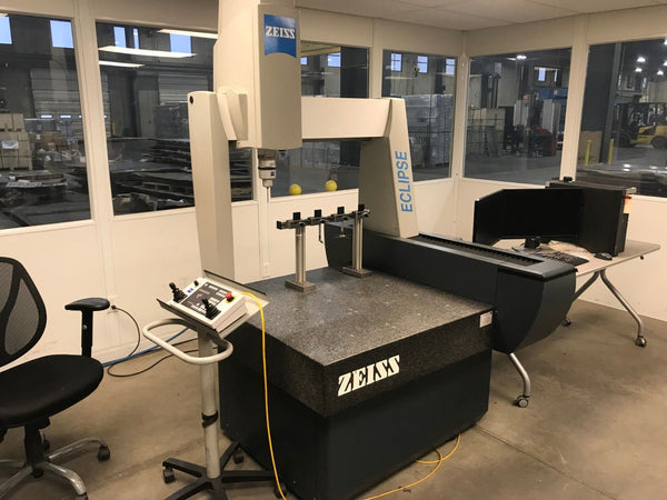 Zeiss Eclipse 282820 Coordinate Measure Machine - Calibrated March 2018