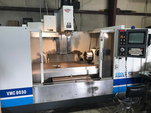 2001 Fadal 8030HT - 4 Axis VMC - 10K RPM Spindle & Video Available!