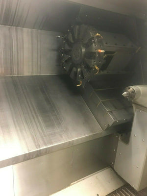 2008 Haas SL30T CNC Turning Center- Tailstock, Chip Auger, Parts Catcher, Video