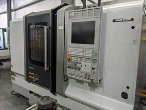 DMG MORI NZX2500/600L Twin Turret CNC Lathe, 2014 - LNS Chip Conveyor, Clean