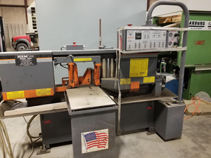 "Hem 12.75"" x 12.75"" Horizontal Band Saw H90A-4, YEAR 2012, VIDEO!"