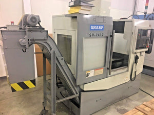 2009 Sharp SV 2412 Vertical Machining center | Video available!