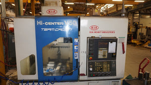 KIA High Center V50 Vertical Mill