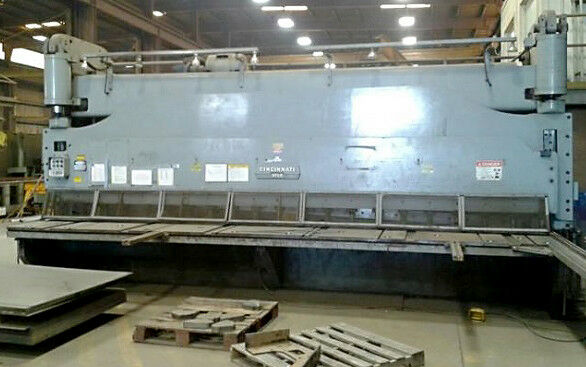 Cincinnati 5FLS-20 Hydraulic Shear, 3/4 x 20ft Capacity