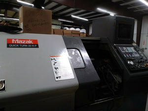 "1998 Mazak Quickturn 20HP - 10"" 3-Jaw Chuck - Turret Tooling Included! Video!"
