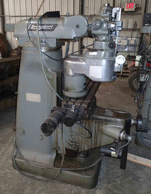 Bridgeport CNC Mill- Series 1, Proto Trak Plus Control, 2 HP