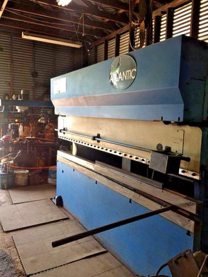 2001 Atlantic 120 Ton x 10ft Press Brake HDE 120 12