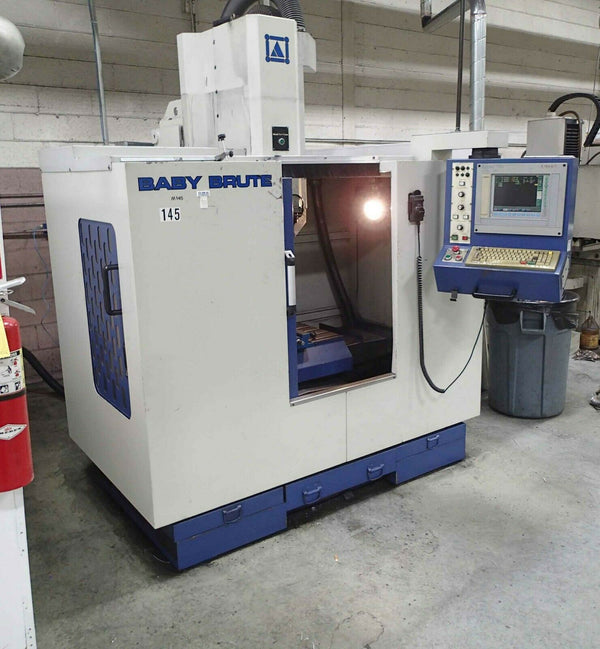 Baby Brute CNC Vertical Machining Center, 2002- Selca Control, Heavy Duty
