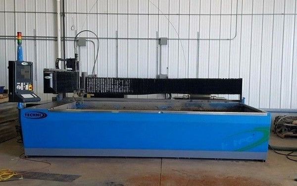 6ft x 12ft Techni Waterjet Intec 612, Year 2010!!