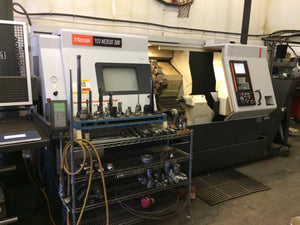 2006 Mazak Quickturn Nexus 300 - Barfeed, Tooling, Parts Catcher, Tool Eye, T/S