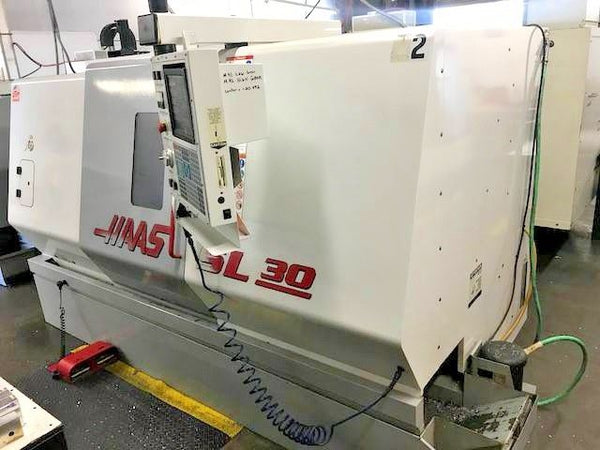 1999 Haas SL-30 CNC Turning Center - Prototype Machine - Under Power