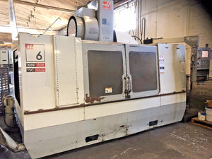2006 Haas VF-6D/40 - TSC, 24+1 SMTC, Rigid Tap, Brushless Servos, 95 Gal Cool Ta