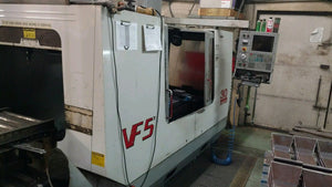 2000 Haas VF-5/50 CNC Vertical Machining Center - TSC, WIPS, 4th Ready, Auger
