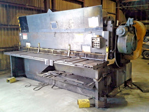 CINCINNATI 3/8'' X 12' Mechanical Shear 2512, Year 1966