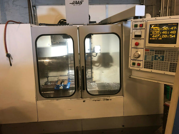 1994 Haas VF-1 (Rebuilt) - Limited Use After Rebuild - Rigid T - Tooling Include