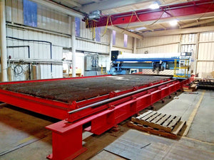 6000 Watt Tanaka LMXV-Z30 CNC Gantry Laser Cutting System, 2004- 10' x 30' Table
