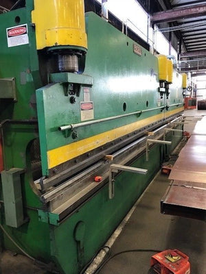 Pacific 150 Ton x 15ft Press Brake Tandem, 300 Ton x 30ft Capability