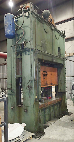 Verson 250 Ton Straight Side Press- Model 250-S2-96
