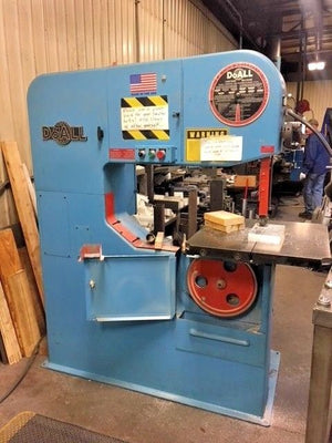 "DOALL VERTICAL 36"" BAND SAW Model 3613-1"