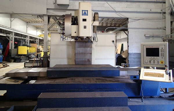 "Brute 2210 Vertical Machining Center, 2000 - 85"" x 38"" Travels"