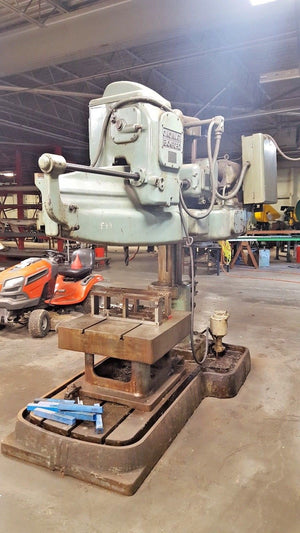 "Cincinnati Bickford 3' X 9"" Radial Arm Drill Model 3-519"
