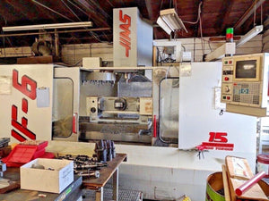Haas VF-6 with 5th Axis Trunnion Table