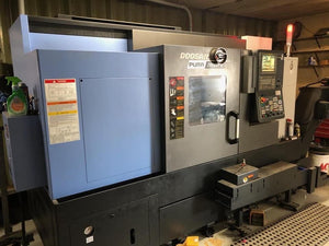 2018 Doosan Puma 2600SY - Sub Spindle, Y Axis, Super Low Hours, Hardly Used!
