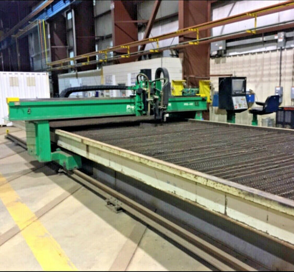 "12' x 42' Sector CNC Plasma, 2008 - Hypertherm HPR260, 2"" Cutting Capacity"