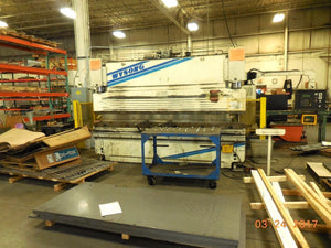 Wysong Fab140/144- 140 Ton x 12ft CNC Press Brake w/ BackGauge