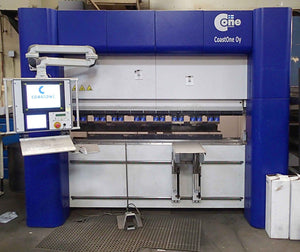 2015, CoastOne Oy Cone 2000 CNC Precision Press Brake - 5 Axis, 3 Servo Spindles