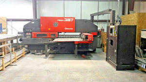 1992 Amada 33 Ton Pega 357 Turret Punch Press w/ Fanuc 04PC Control