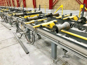 Knight Industries Pipe Conveyor System - (119) 10Ft Chain Driver Hyd. Sections