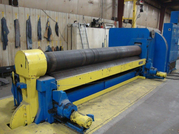 Bertsch 5/8 x 12ft Plate Roll, Model 11, YEAR 1975