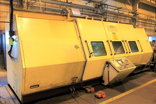 1996 WFL Voest Alpine M70 Millturn Slant Bed CNC Lathe- 5 Axis + Live Tooling