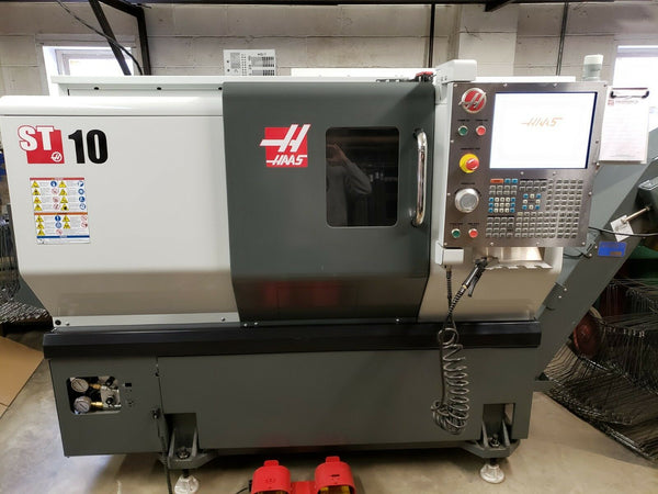 2012 Haas ST-10 - Never Used, Lost Job, Tailstock, Auto Tool Presetter, Chip Con
