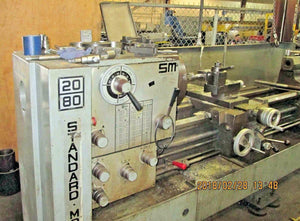 Standard Modern Model 2080 Engine Lathe- 20 Swing, 80 Centers