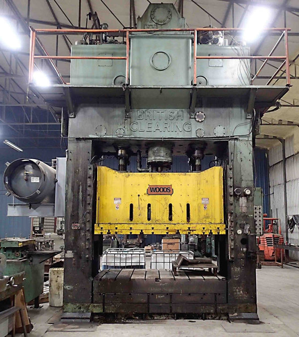 British Clearing 660 Ton Straight Side Press- Model S4-650 108-64