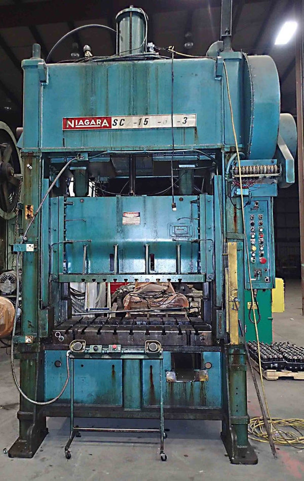 Niagara 150 Ton Press- Model SC2-150-60-36