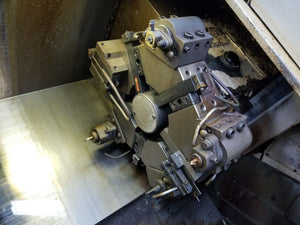 "1995 Mori Seiki CL-20A - 8"" Chuck, Chip Conveyor, Parts Catcher, Turret Tooling"