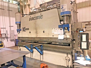350 Ton x 14' Pacific FK350-14 CNC Press Brake, 2008 - 4 Axis, Crowning