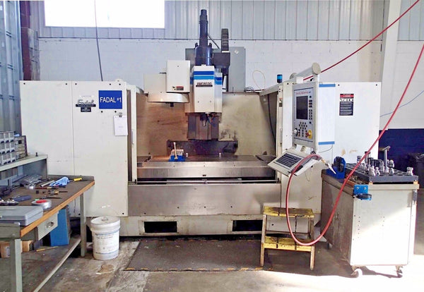 Fadal 6030 HT Model 907-1 Vertical Machining Center- High Torque, New Spindle