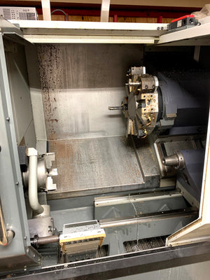 Haas ST-20 CNC Lathe, 2014 - Parts Catcher, Probing, Tailstock, Low hours, Tooling goes with