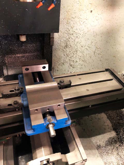 2014 Haas TM-1P, Used For 1 Job