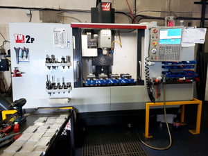 2014 Haas TM-2P, Wired 4th Axis, Probing, Rigid Tapping, Low Low hours, Videos Available