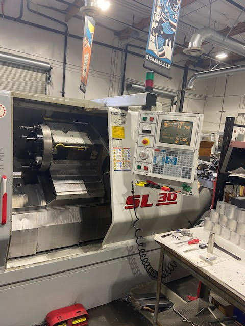 Haas SL-30T CNC Lathe, 1999 - Tailstock